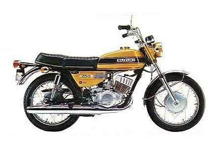 Suzuki GT 250 technical specifications